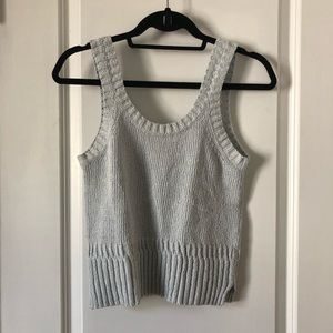 Madewell Minton Scoop Sweater Tank
